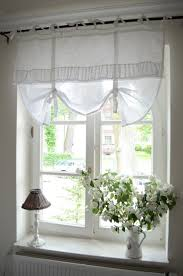 shabby chic window curtains