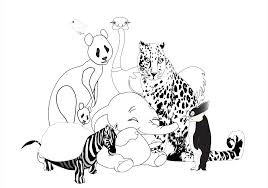 Small Picture Animal Coloring Pages For Kids
