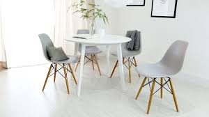 white round dining tables round white 4 dining table matt finish