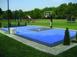 sport court cost. Simple Sport Blue Basketball Court With Michael Jordan Logo For Sport Court Cost