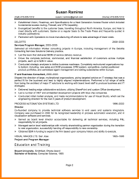 4 Examples Of It Resumes Emt Resume