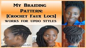 Braid Pattern For Crochet Faux Locs