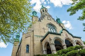 st nicholas ukrainian catholic cathedral in village