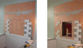 Extraordinary Shower Niche Height 89 On House Decorating Ideas with Shower  Niche Height
