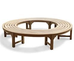 tree seats garden furniture. saturn teak backless round tree bench all garden benches seats furniture