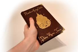 howl s moving castle book cover 24k gold leaf