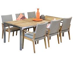 Stainless Steel Outdoor Dining Sets Colibri 6 Seater Westrock