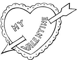 Small Picture My Valentines Day Coloring Pages Valentine Coloring pages of