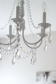 plastic chandelier beads best ideas on no light hanging jars and rustic crystal