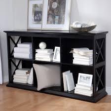 Belham Living Hampton TV Stand Bookcase Black Hayneedle