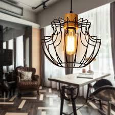 Smeedijzeren Kroonluchter Verlichting Industriële Loft Lampen 220 V