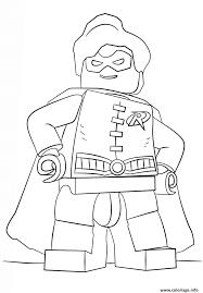 Coloriage Lego Batman Robin Dessin