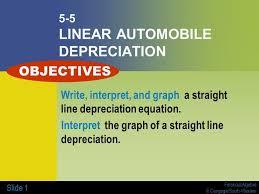 Straight Line Depreciation Equation Straight Line Depreciation Equation Example
