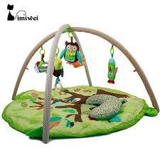 Kids Rug 90 55cm Baby Play Mat Soft Musical Mat Activity Gym Play