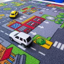large car play rug rugs ikea nursery area road coffee tables race mat for kids dining rustic s toy childrens
