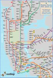 see which subway station is closest to the cheapest apartments renthop map