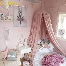 OCHINE Hanging Kid Bedding Round Dome Bed Decoration Canopy Bedcover ...