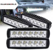 6 Inch Led Work Light Details About 4x 18w 6 Inch Spot Beam Lamp Off Road Driving Fog Led Work Light Bar Mini Boat