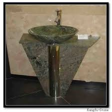 Marble pedestal sink Wash Basin Green Marble Pedestal Sink Shopping Guide Pedestal Basin Xiamen Kungfu Stone Ltd