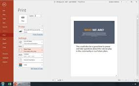 How To Quickly Print Powerpoint Slides
