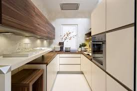 long narrow kitchen ideas: modern long narrow kitchen design