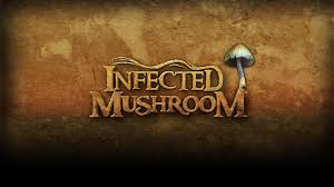 infected mushroom letters background wallpaper 1920x1080 px free