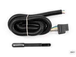 chevy trailblazer trailer wiring kits suspensionconnection com chevy trailblazer trailer wiring kit 1999 2001 by curt mfg 55411