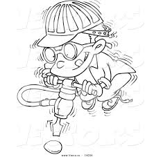 Construction Hat Coloring Pages