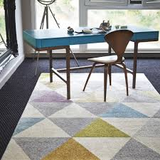 office rug. Cheap-modern-rug-triangle-pattern-rug-modern-rug- Office Rug I