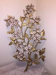 vtg 1967 syroco flowers dogwood wall