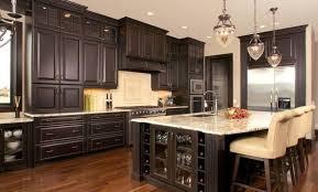 custom black kitchen cabinets. 70 Most Mandatory Brown Laminated Wooden Floor Design Ideas Mocha Mozaic Tile Backsplash Dark Kitchen Cabinets Granite Long Custom Black Under Cabinet B