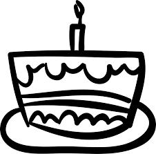 Birthday Cake Hand Drawn Celebration Food Svg Png Icon Free Download