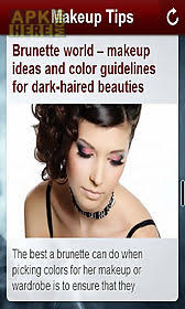 makeup pro tips app for android description makeup tips app includes the following makeup advice tips and tutorials from beauticians beauty experts and