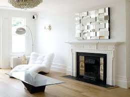 a fireplace mantel decorating with unique mirror decor ideas decorations corner fireplac