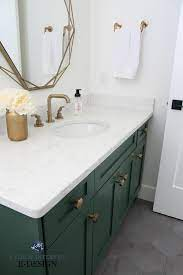 The 6 Best Paint Colours For A Bathroom Vanity Including White Kylie M Interiors