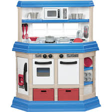 Play Kitchen American Plastic Toys Cookin Kitchen With 22 Accessories