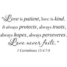 Love Is Patient Love Is Kind Quote New Amazon Wall Decal Sticker Quote Vinyl Large Love Is Patient