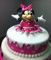 birthday surprise minnie mouse birthday cake