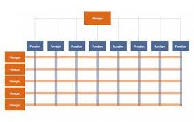 030 Template Ideas Management Typical Orgcharts Matrix Org