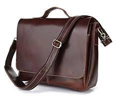 mens leather flapover briefcase flapover briefcase