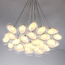 ball light fixtures branching bubble glass suspension chandelier lights glass ball lighting fixtures stairs living room ball light fixtures
