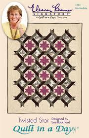 Twisted Star: Eleanor Burns Signature Quilt Pattern 735272012542 ... & Twisted Star: Eleanor Burns Signature Quilt Pattern 735272012542 Adamdwight.com