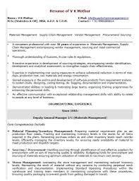 Material Management Resume Sample 18 Free Warehouse Manager Resume Samples Sample Resumes