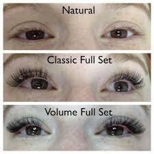 Fake Eyelash Size Chart Russian Volume Eyelash Extension Style Chart Google Search