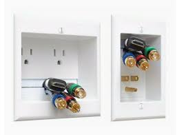 hide tv wires in wall power and cable