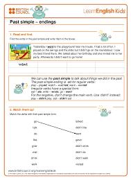 Past simple-worksheets 1