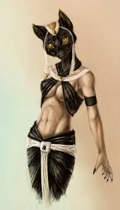 The Egyptian Goddess Bastet Is One Of The Earlier Deities Of The