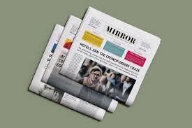 School Newspaper Layout Template 20 School Newsletter Templates Design Shack