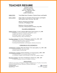 10 11 Samples Of Teachers Resumes Lascazuelasphilly Com
