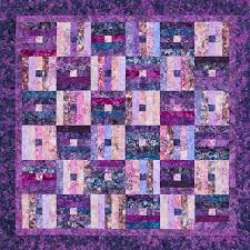 Purple Quilt Patterns Interesting Design Ideas